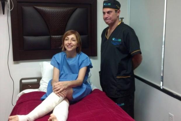 Fernanda Tapia se somete a exitosa liposucción en la clínicaMedilaser